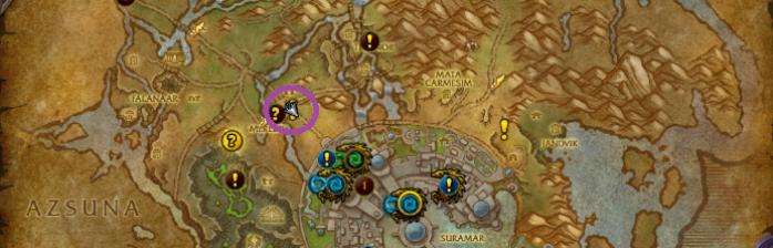 arquimago kalec mapa