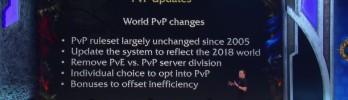 [BlizzCon] Fim da divisão de servidores PvP e PvE