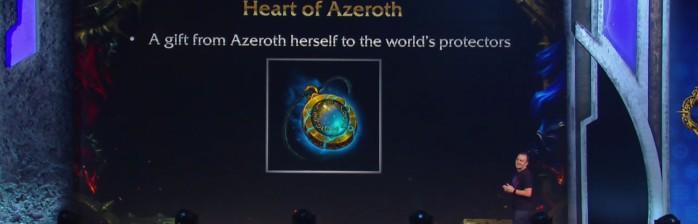 Fim das armas-artefato e novo sistema de itens: Coração de Azeroth