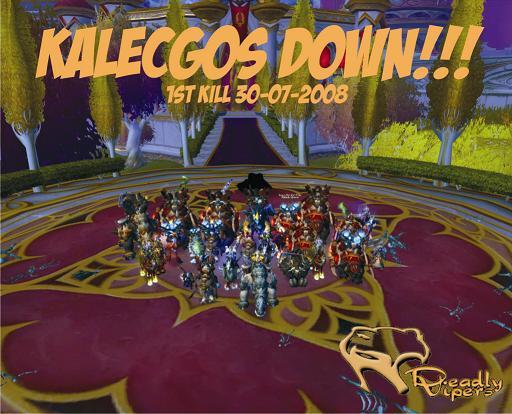 Kalecgos down!