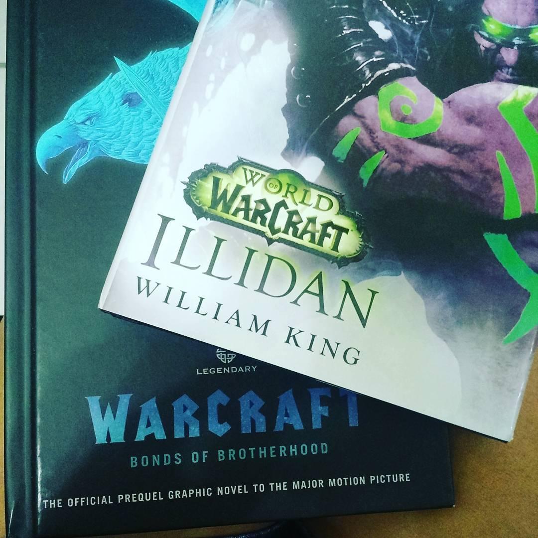 Porque tinha pouca coisa pra ler mesmo warcraft illidan bondsofbrotherhood