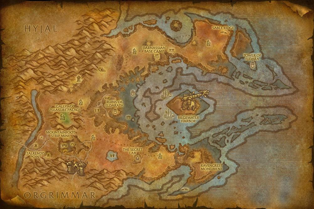 Wow Girl Os Novos Mapas Do Cataclysm