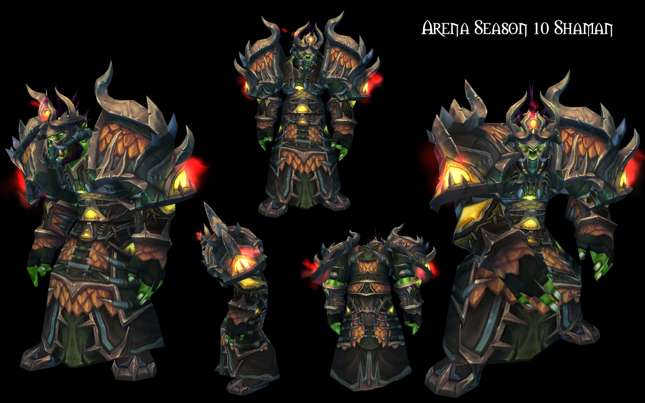 World of Warcraft - Legion Season 5, 6 & 7 Elite PvP Armor ...