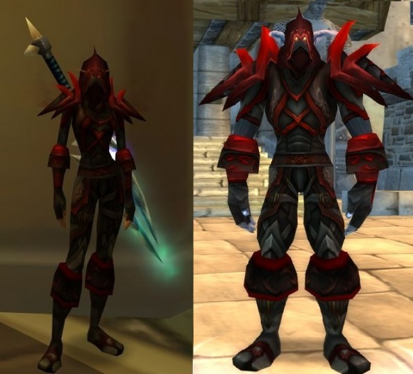 Rogue tier 2: Bloodfang Armor