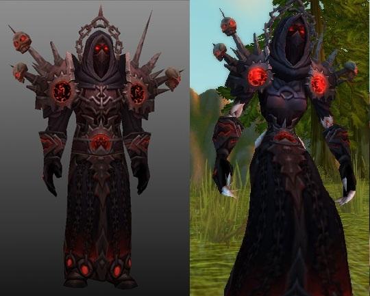 Corruptor set - Warlock tier 5