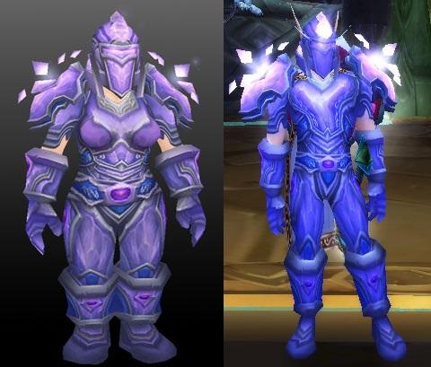 Crystalforge set - Tier 5 Paladin