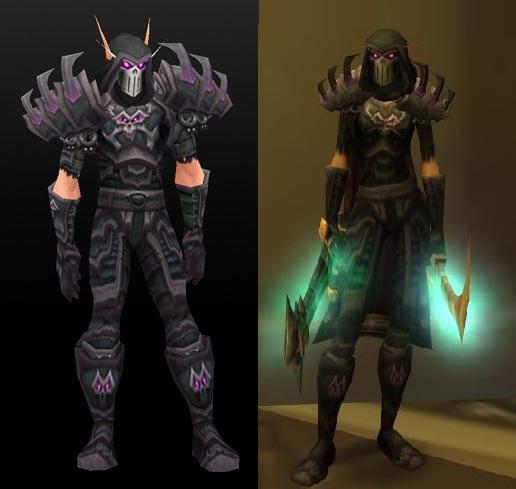 Deathmantle set - Rogue tier 5