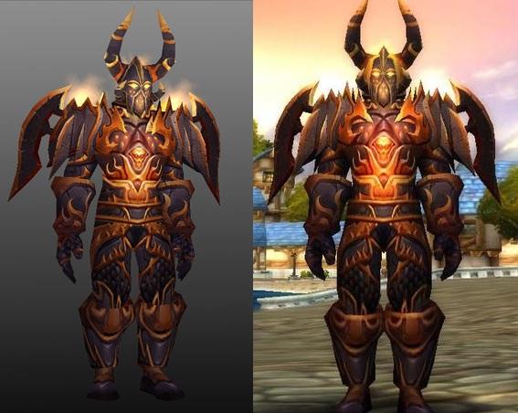 Destroyer set - Tier 5 warrior