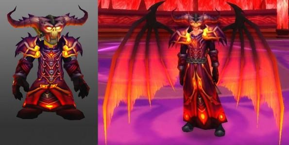 Malefic Raiment - Warlock tier 6
