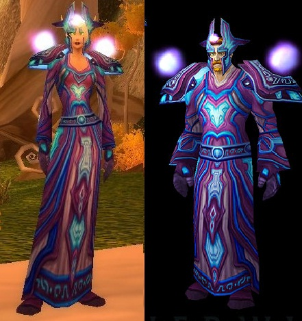 Mage tier 2: Netherwind Regalia