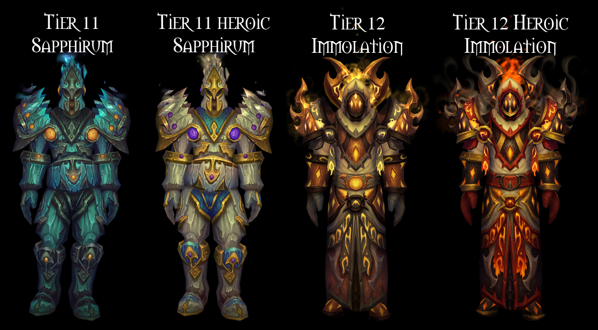 Wow Girl Patch 4 3 Preview Paladin Tier 13