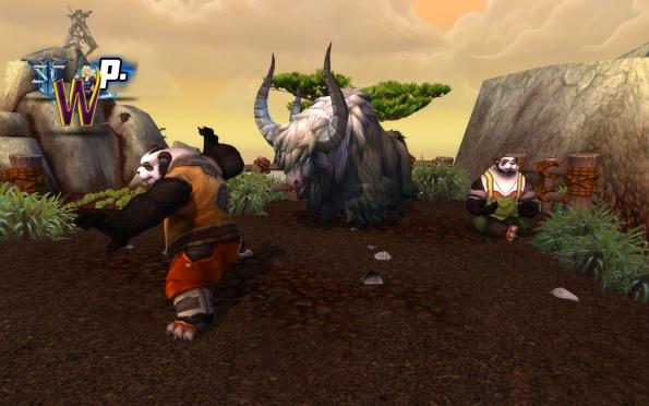 Mists of Pandaria -- Pandaren Farmers wowgirl
