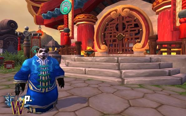 Mists of Pandaria -- Pandaren Monk