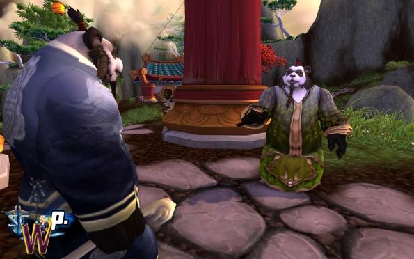 Mists of Pandaria -- Pandaren in Conversation