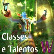 Classes e Talentos em Mists of Pandaria