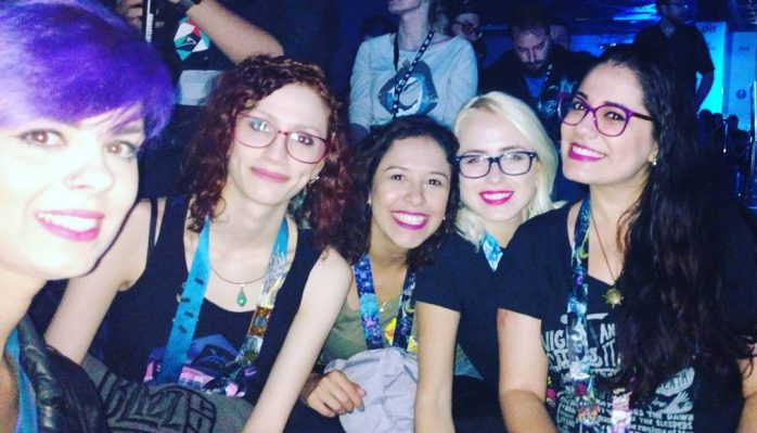 Prontas pra cerimnia de abertura! BlizzCon2016