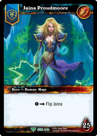 Novo card da Jaina no TCG