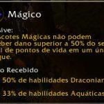 Família: Mágico (Magic). Não podem receber dano superior a 50% do seu total de pontos de vida em um único ataque.