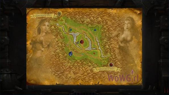 Novas animações nos mapas
