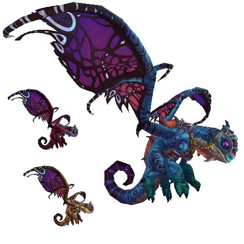 Dragão Encantado Feérico