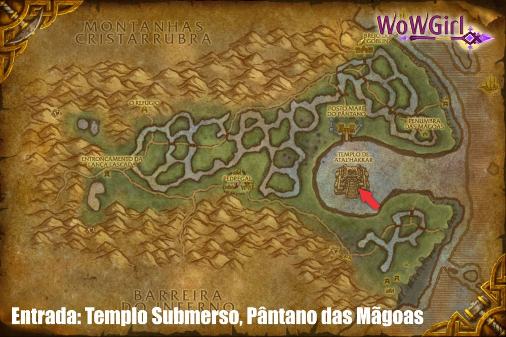 templo submerso