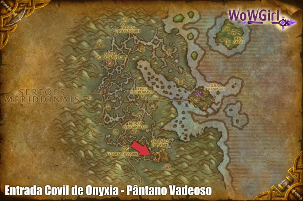 entrada covil de onyxia