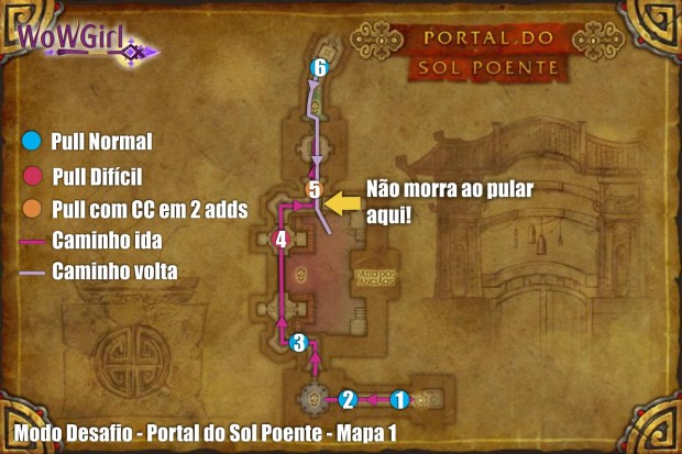modo desafio sol poente mapa 1
