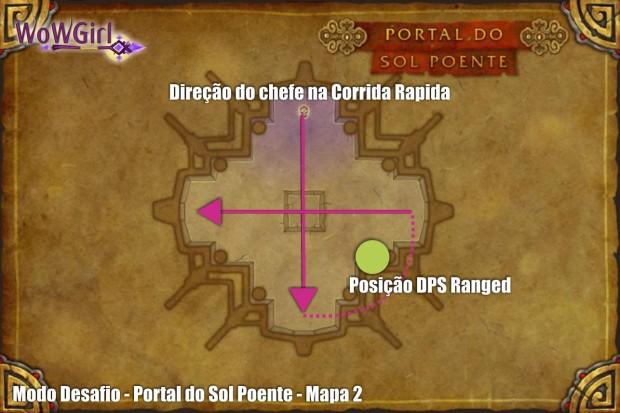 modo desafio sol poente mapa 2