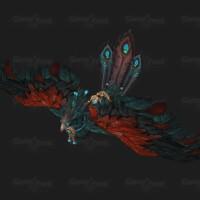 wow-pandaren-phoenix-mount-crimson