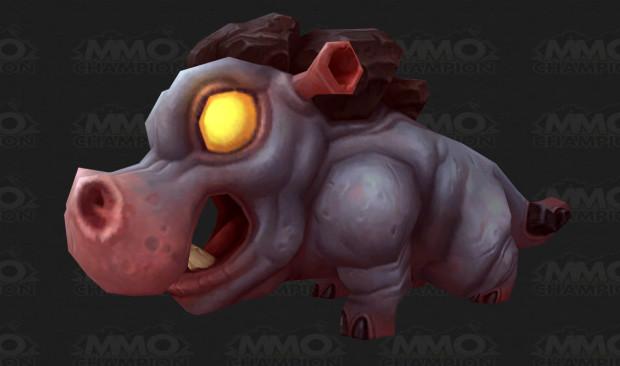~Possível~ bebê hipopótamo de WoD - dataminado pelo MMO-Champion.