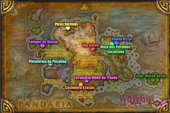 Mapa Fishing of The Day Full