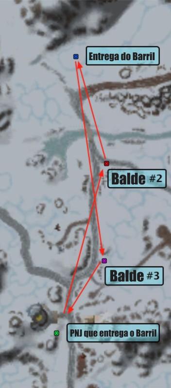 Mapa da Corrida em Altaforja na Cervafest