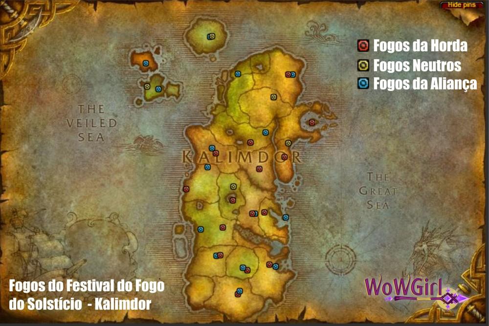 Mapa Kalimdor