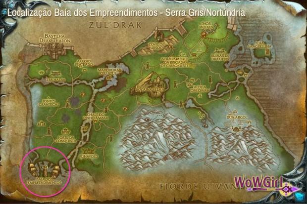 Venture Bay - Mapa