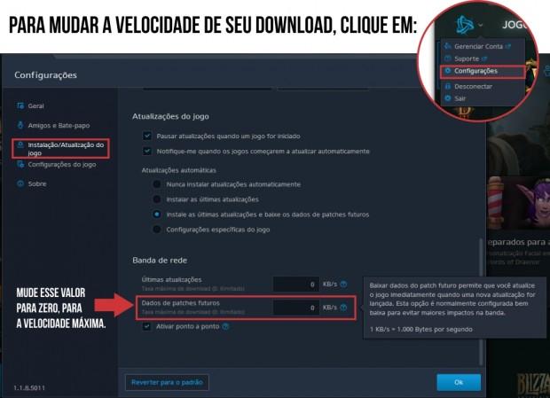 velocidade download