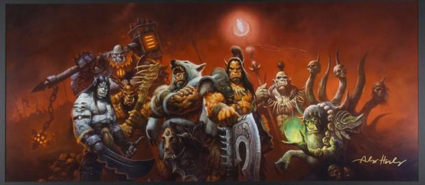 Warlords of Draenor por Alex Horley Orlandelli