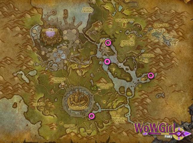 Fera do Rio Mapa3