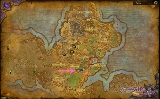 Localização Gorgrond