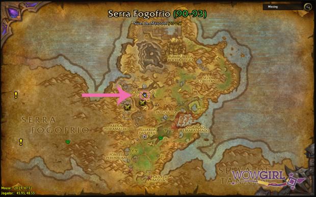 Localização Gorgrond I