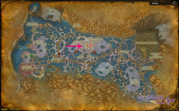 Localização Masmorras