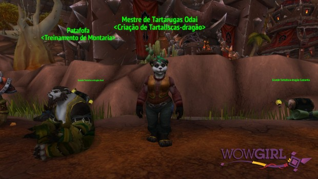 NPC Vendedor Pandarens - Orgrimmar - 69 41 1