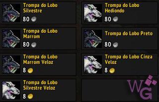 Tela de compra Orcs lobos orgrimmar 1