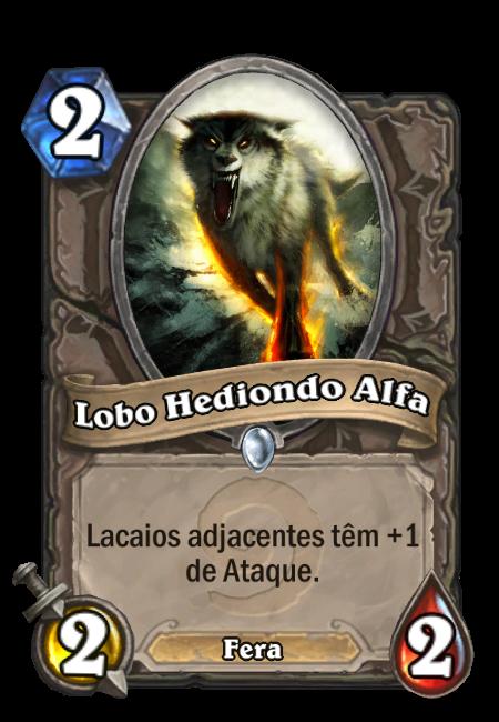 Lobo Hediondo Alfa