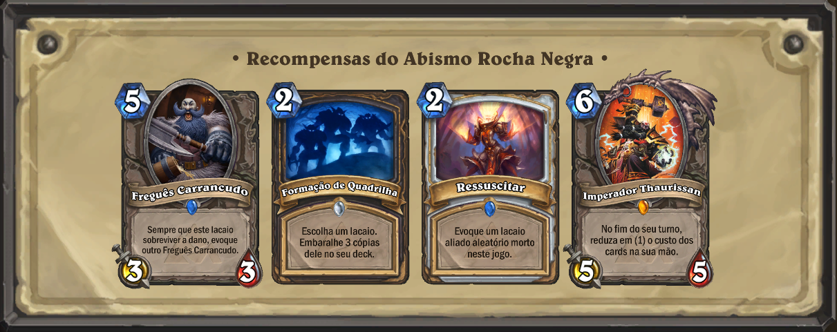 Recompensa Abismo Rocha Negra