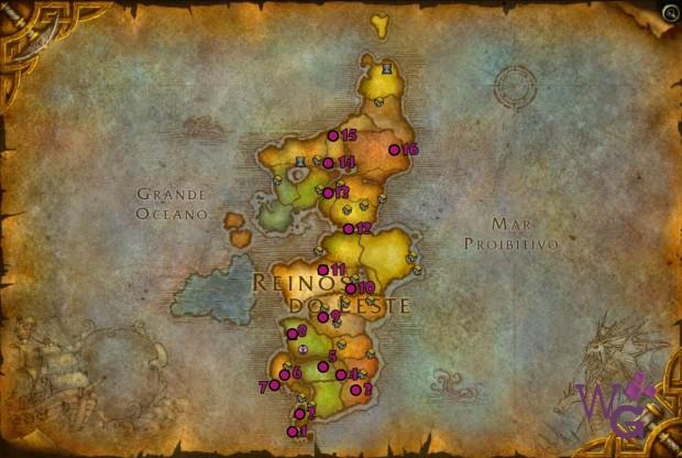 reinos do leste