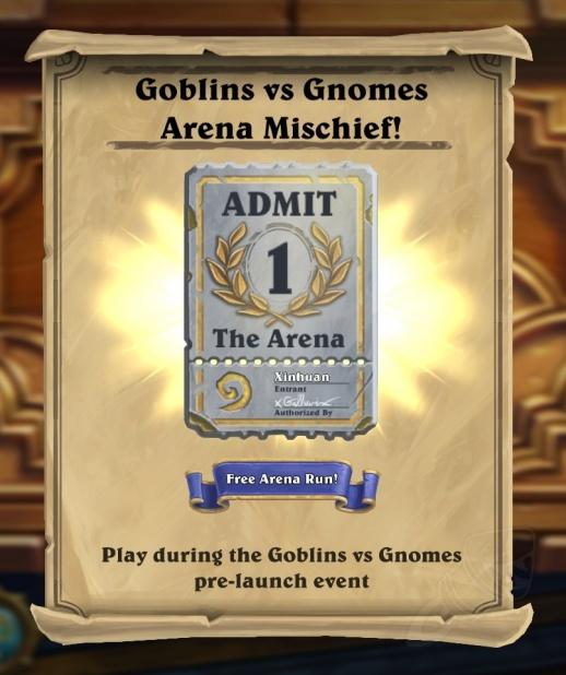 Bagunça na Arena de Goblins Vs Gnomes