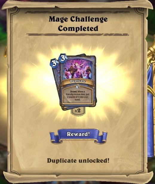 Desafio do Mago Completado