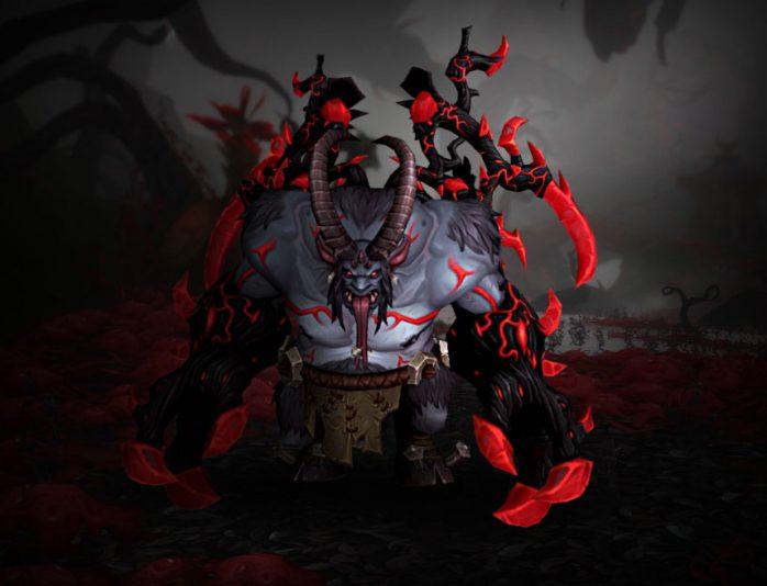 Xavius, como visto em WoW Legion
