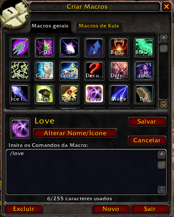 how to create a macro for mage wow