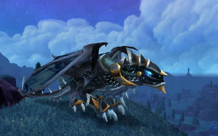 Mount infinite dragon